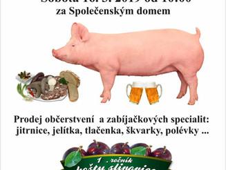 Zabíjačkové hody a Košt slivovice v Bukovince !!!