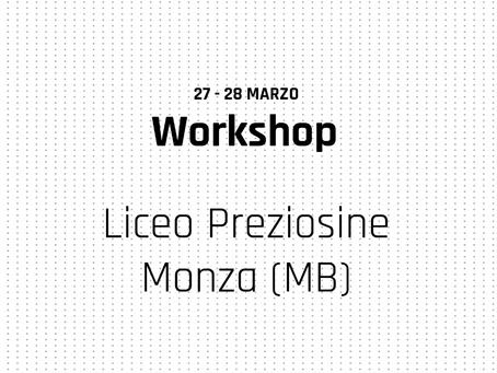 Workshop alle Preziosine di Monza