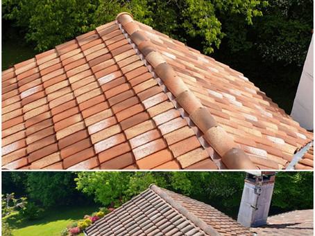 Quels sont les moyens de nettoyer les toitures des maisons à Montauban dans le Tarn et Garonne.