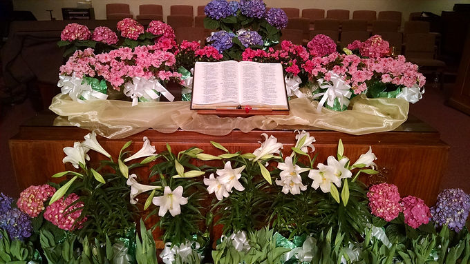 Flowers for Worship Spaces