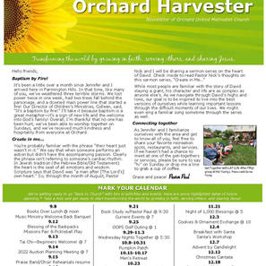 August 2021 Harvester