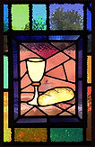 sanctuary stained glass communion  cover