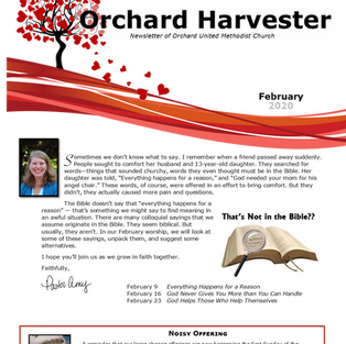 February 2020 Harvester