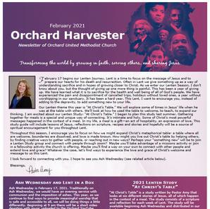 February 2021 Harvester