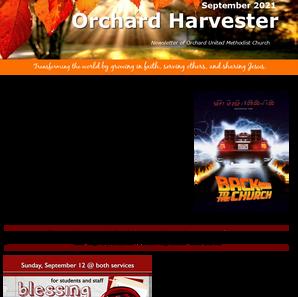 September 2021 Harvester