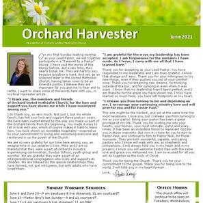 June 2021 Harvester