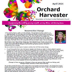 April 2021 Harvester