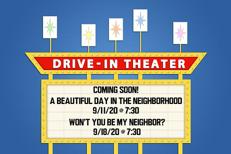 drive in movies september 2020  with dat