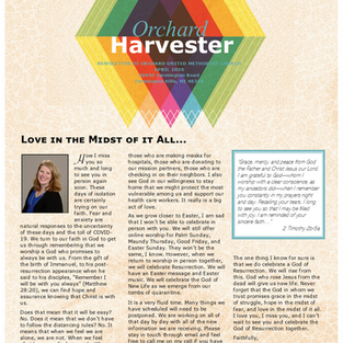 April 2020 Harvester