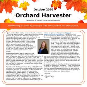 October 2020 Harvester