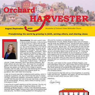 Aug/Sept 2020 Harvester