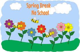 Spring Break 4/10-4/17