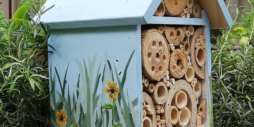 For kids: Paint your own DIY bee hotel