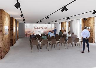 EXPO2020 Latvia pavilion 3rd floor