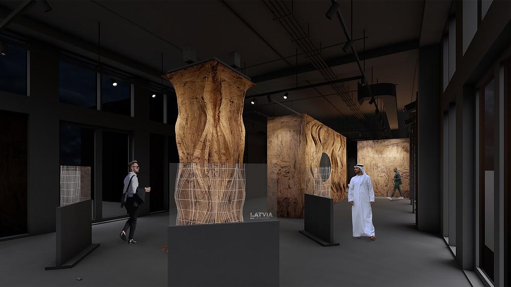 Latvia's Pavilion at EXPO 2020 Dubai