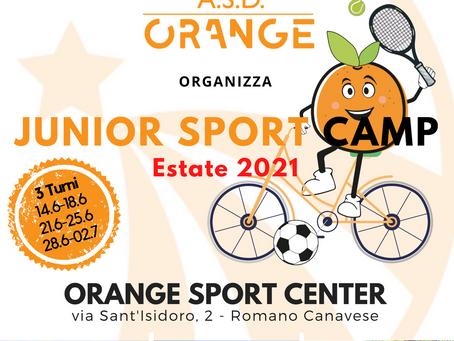 L'estate multisport a tinte arancioni! Orange Junior Camp 2021