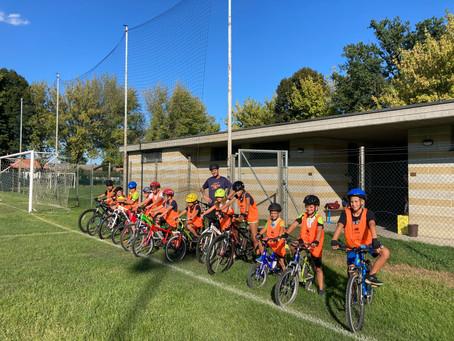 Concluso con grande successo il corso di Mountain Bike Junior School