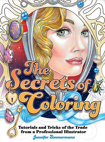 Glamourista Adult Coloring Book