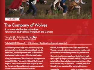 """Award success and critics choice for Company of Wolves: """"A Spellbinding Production"""""""