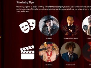 Wandering Tiger - new website