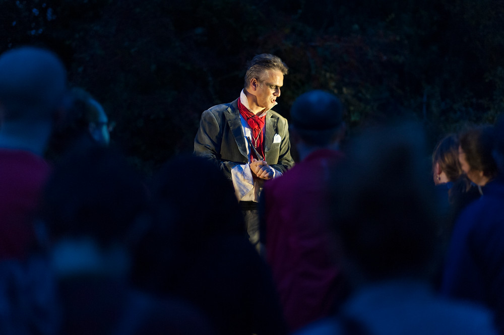 Richard Feltham as The Duke in Company of Wolves