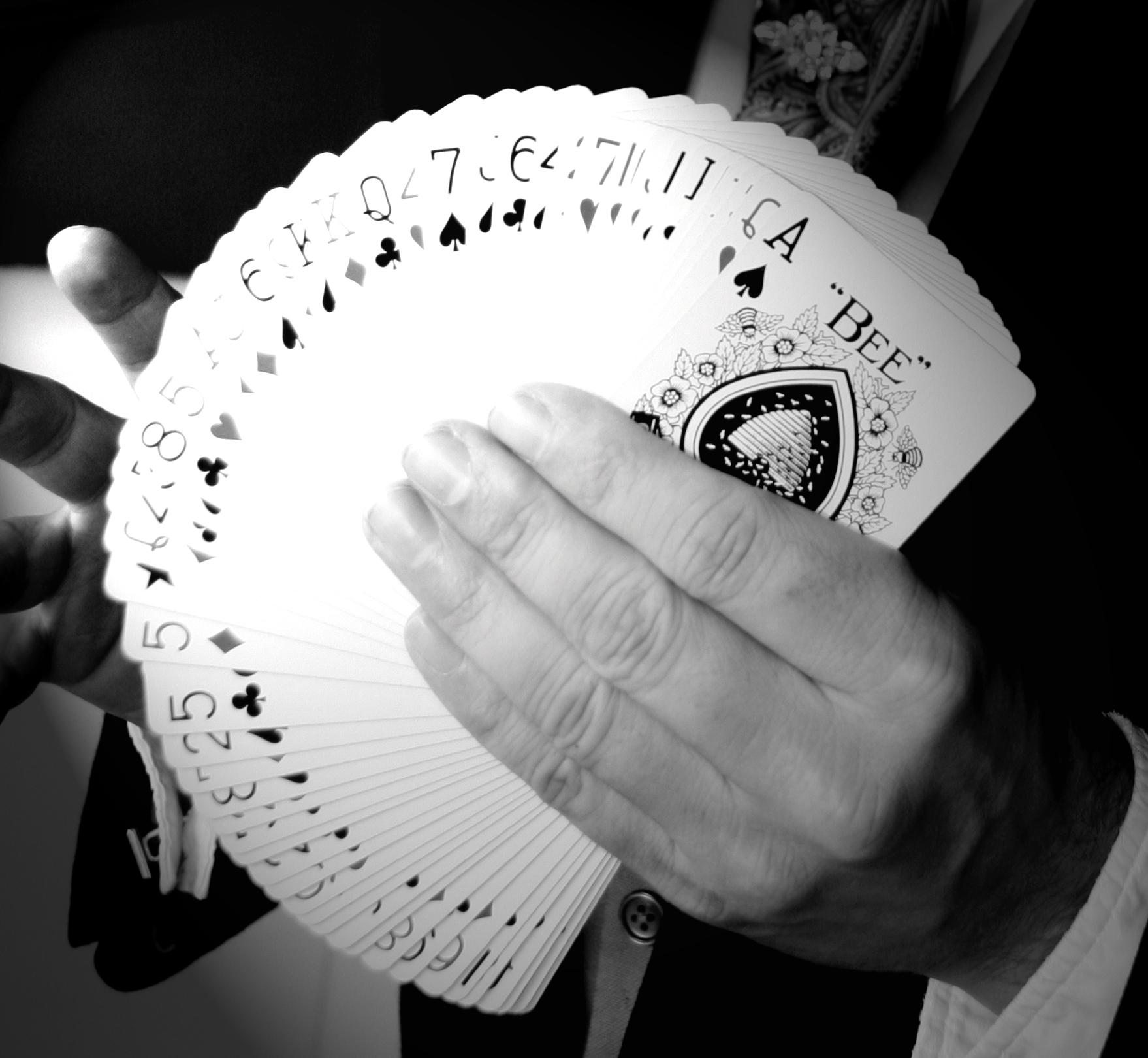 Fan of Cards Playing Dead Murder Mystery.jpg
