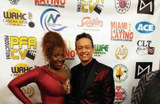 Javier Luis y  Jamilka Kennedy at the Miami Magazine Awards 2019