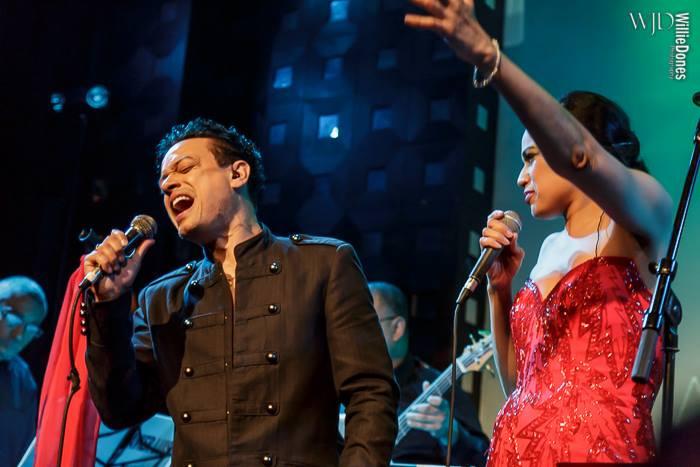 Javier Luis and Marlene Villafane at Sounds of Brazil
