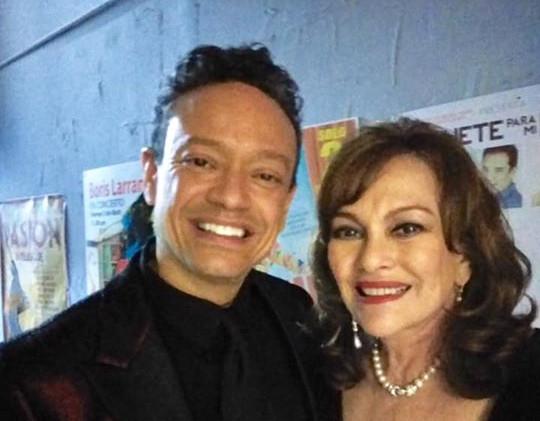 Javier Luis y iconic soap opera actress Lupita Ferrer Miami Magazine Awards 2019