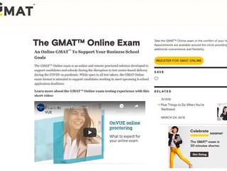 GMAT™ Online exam