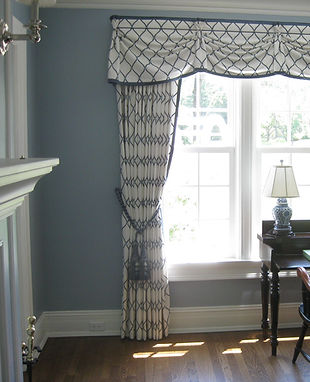 Interior Design Window Treatment Whitefish Bay, Milwaukee