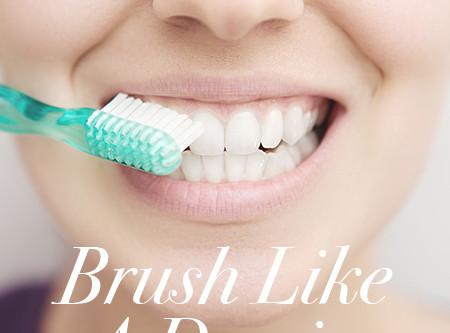 How to Clean Teeth Like a Dentist