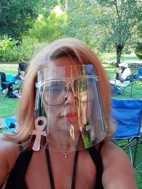 Adjustable Clear Mask