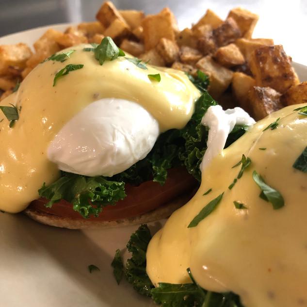 Sunday Eggs Benedict