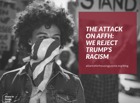 The Attack on AFFH: We Reject Trump's Racism