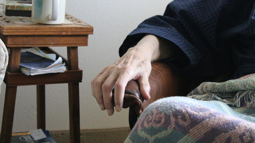 Grampa's hand