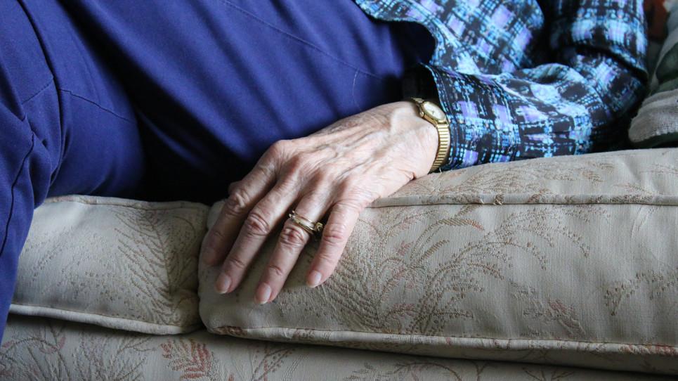 Grammy's hand