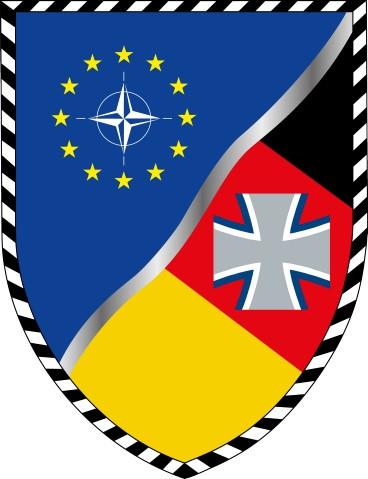 Wappen des Multinationalen Kommandos Operative Führung, Ulm