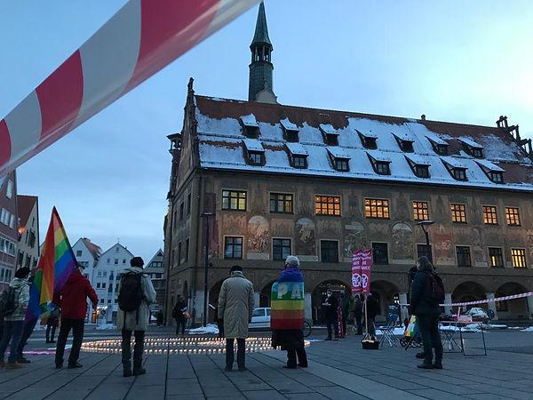 TPNW ican nuclear ban Ulm Scholl-Platz