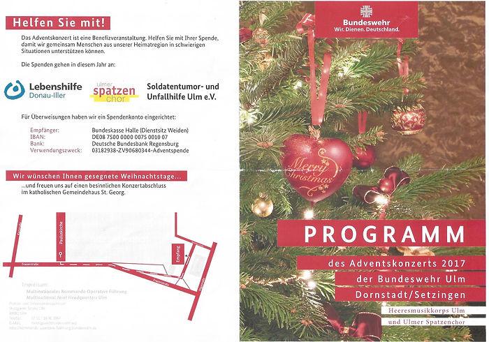 Offizielles Programmheft der Bundeswehr