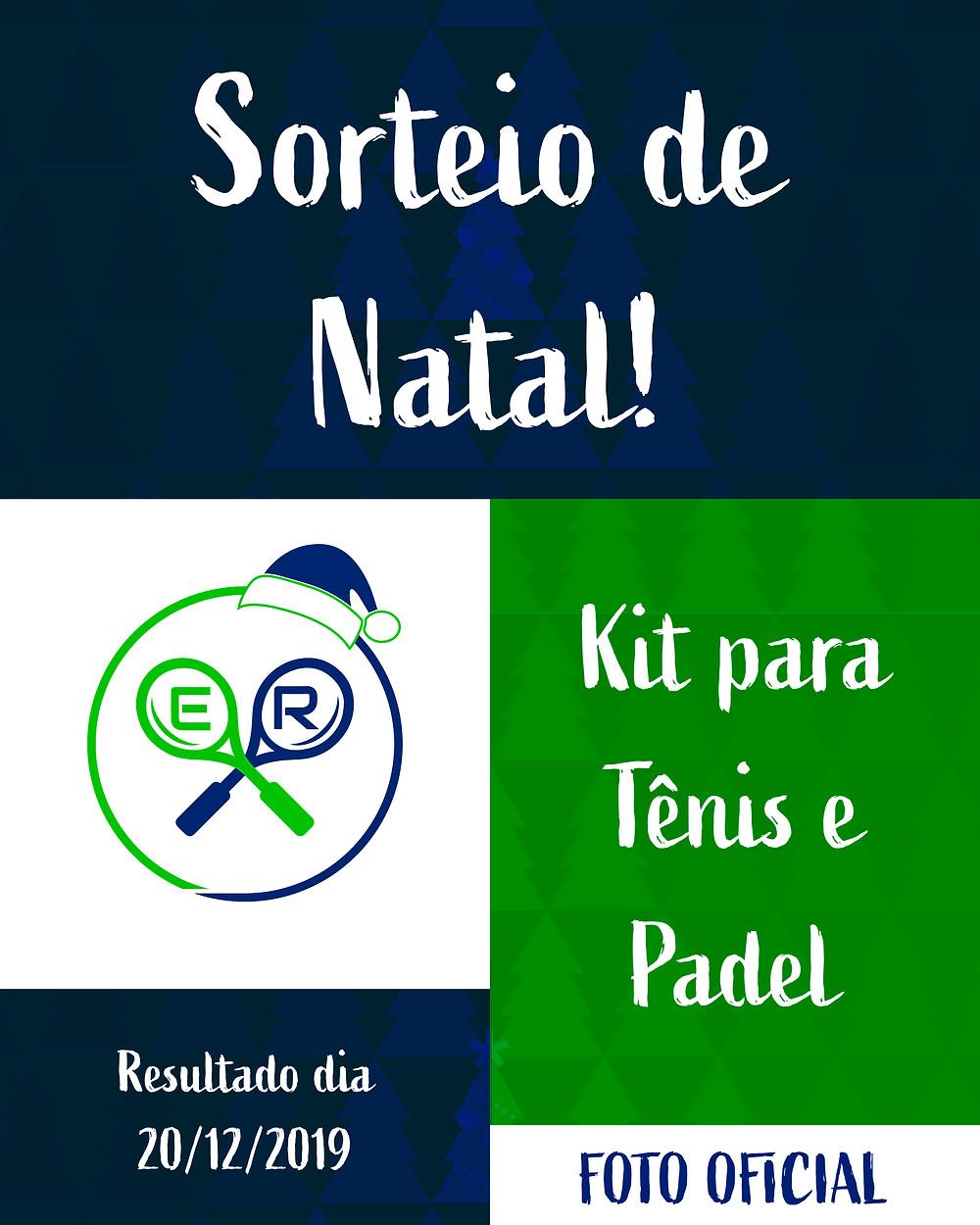Foto Oficial do Sorteio de Natal da Er Esportes - Aulas de Tênis e Padel em gravataí e cachoeirinha