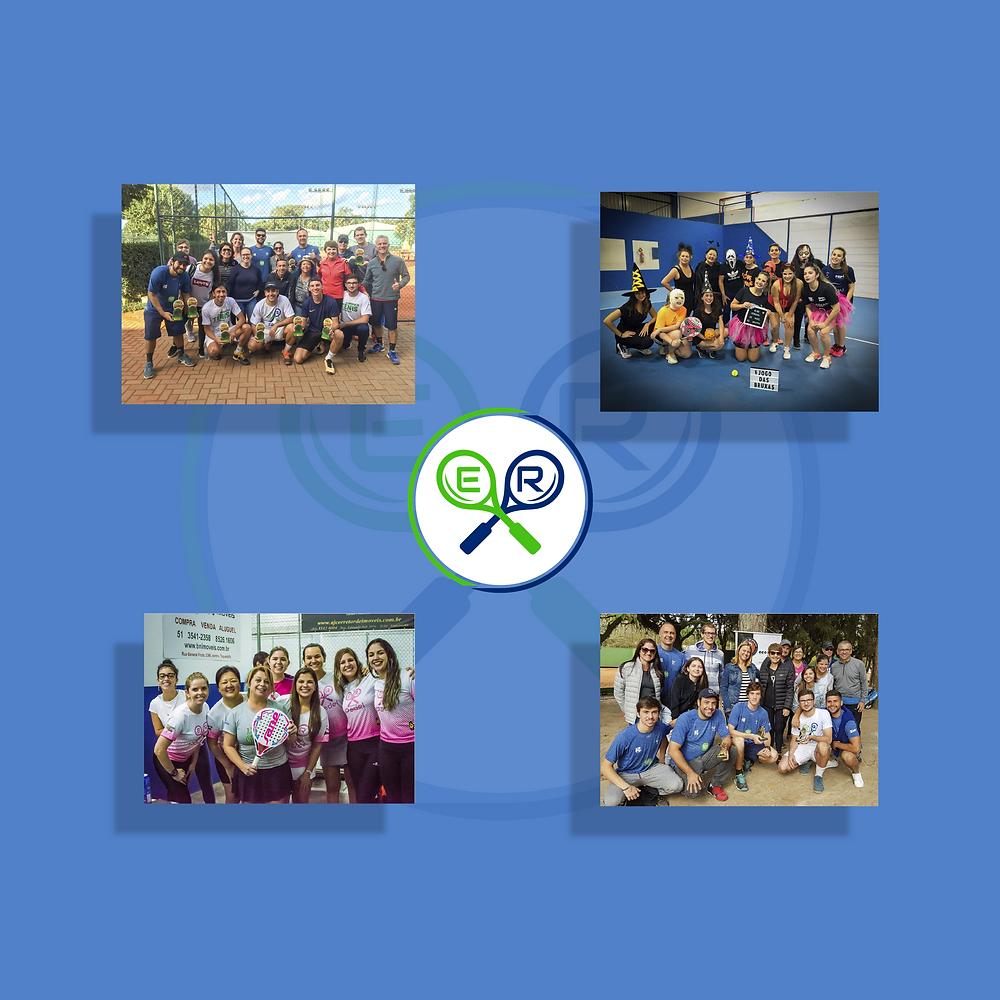 Torneios de tênis e padel Rio Grande do Sul. Alunos da Er Esportes, Gravataí - Paladino Tênis Clube.