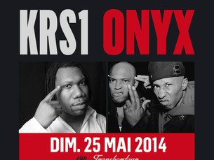 Onyx x KRS-One in France