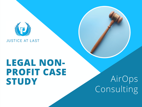 Justice At Last: Airtable Database for a Legal Non-Profit