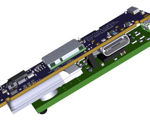 LoRa and Sigfox Sensor development board