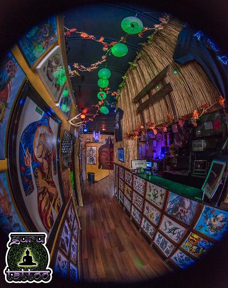 Inside Guru Tattoo & Piercing Palm Beach Shores