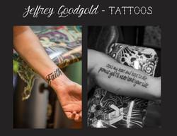 faith & lettering tattoo
