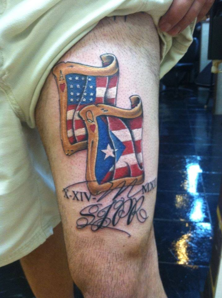 Puerto Rican tattoo