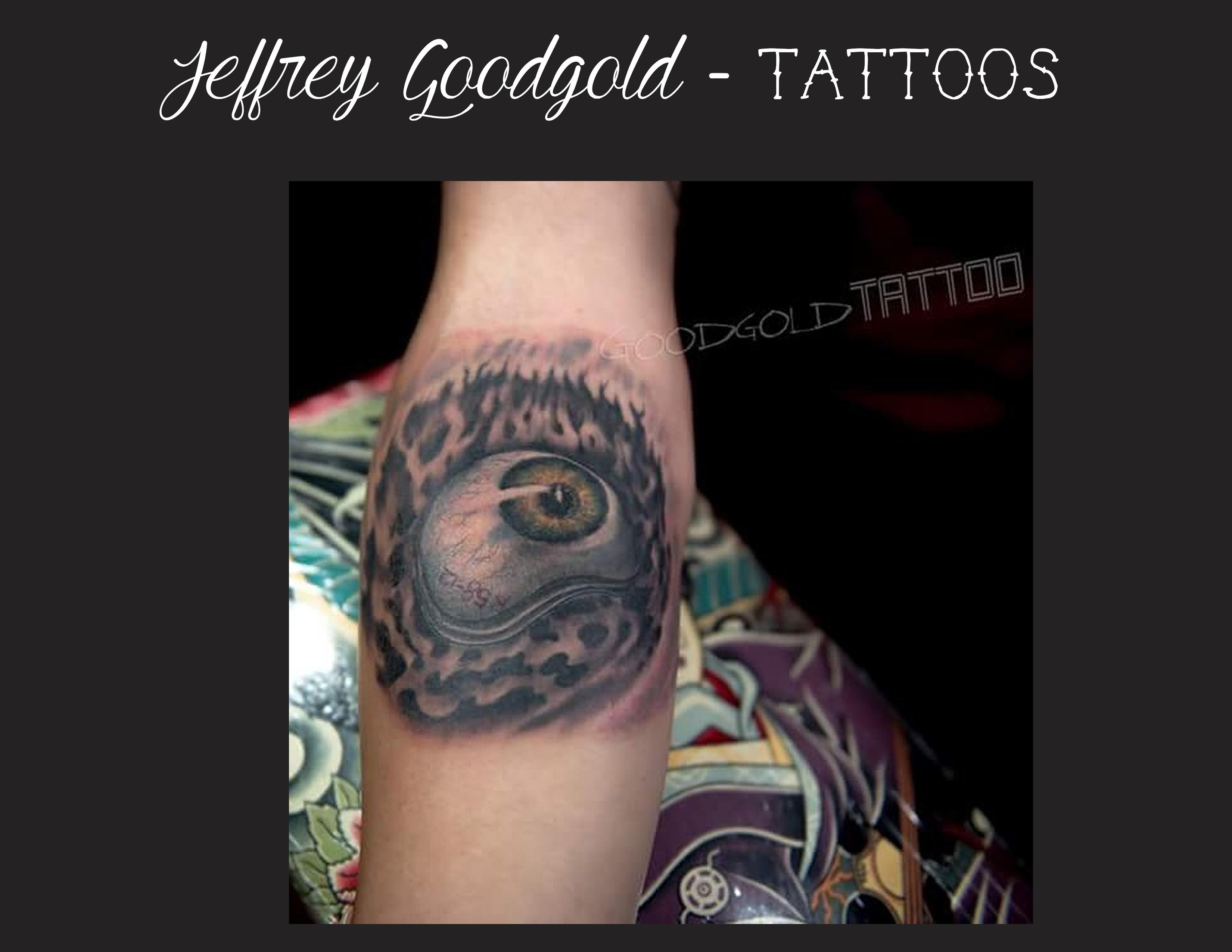glass eye tattoo