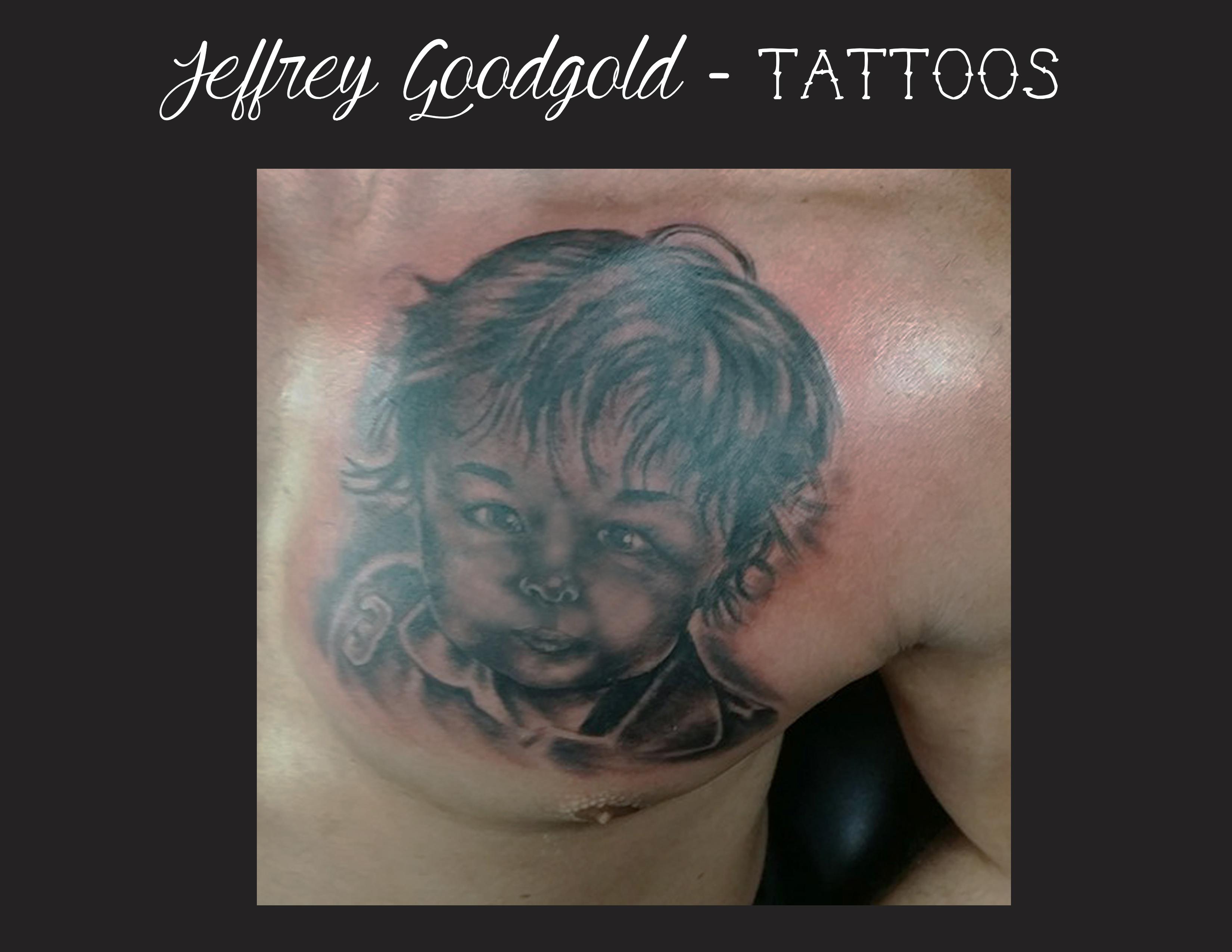 child portrait tattoo